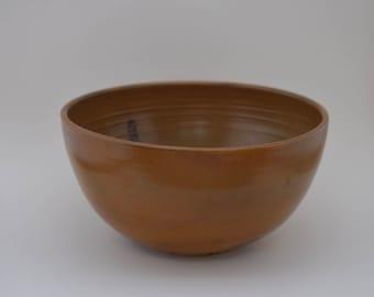 medium orange bowl