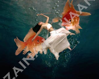 Goldfish - Fine Art Photography Surreal Art