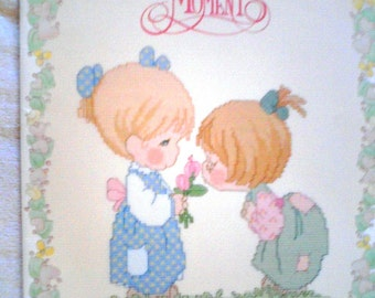 """Precious Moments Cross Stitch Pattern Booklet... """"Good Friends Are Forever""""  PM31"""