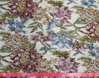 Flowers 6793 Tapestry upholstery fabric