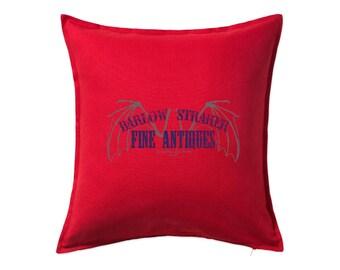 Salems Lot: Barlow & Straker Antiques Cushion