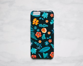 SALE! Floral iPhone 6 6s Case - Fern and Foliage iPhone Case - iPhone 6 6s case - Hard Plastic, Slim Fit