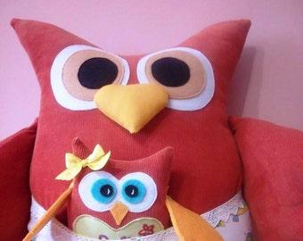 Decorative pillow Owl Pilow Owl decor Kids pillow Baby gift Owl toy  Christmas decoration Sofa pillow Stuffed owl Home decor Owl ornament