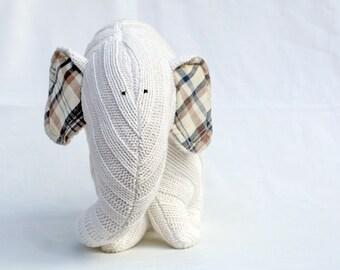 Big White Elephant stuffed toy for kids