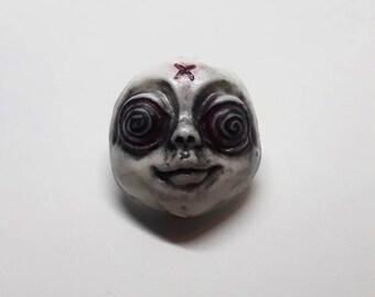 Hypnotized Horror Pin