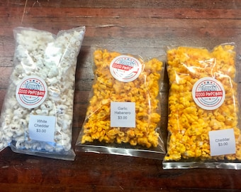 Cheese Popcorn Stocking Stuffer Deal Pick 3 Flavors Secret Santa Gifts