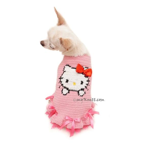 Hallo Kitty Hello Kitty Hund Kleidung kleine Hello Kitty