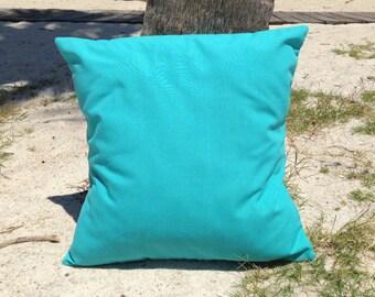 """Ocean Pillow Cover 18"""" x 18"""", Nautical Pillow Cover, Outdoor Pillow, Nautical Pillow, Ocean Theme, Pillow Cases, Beach Cushion, Ocean Decor"""