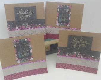 Thinking of You blank greeting cards