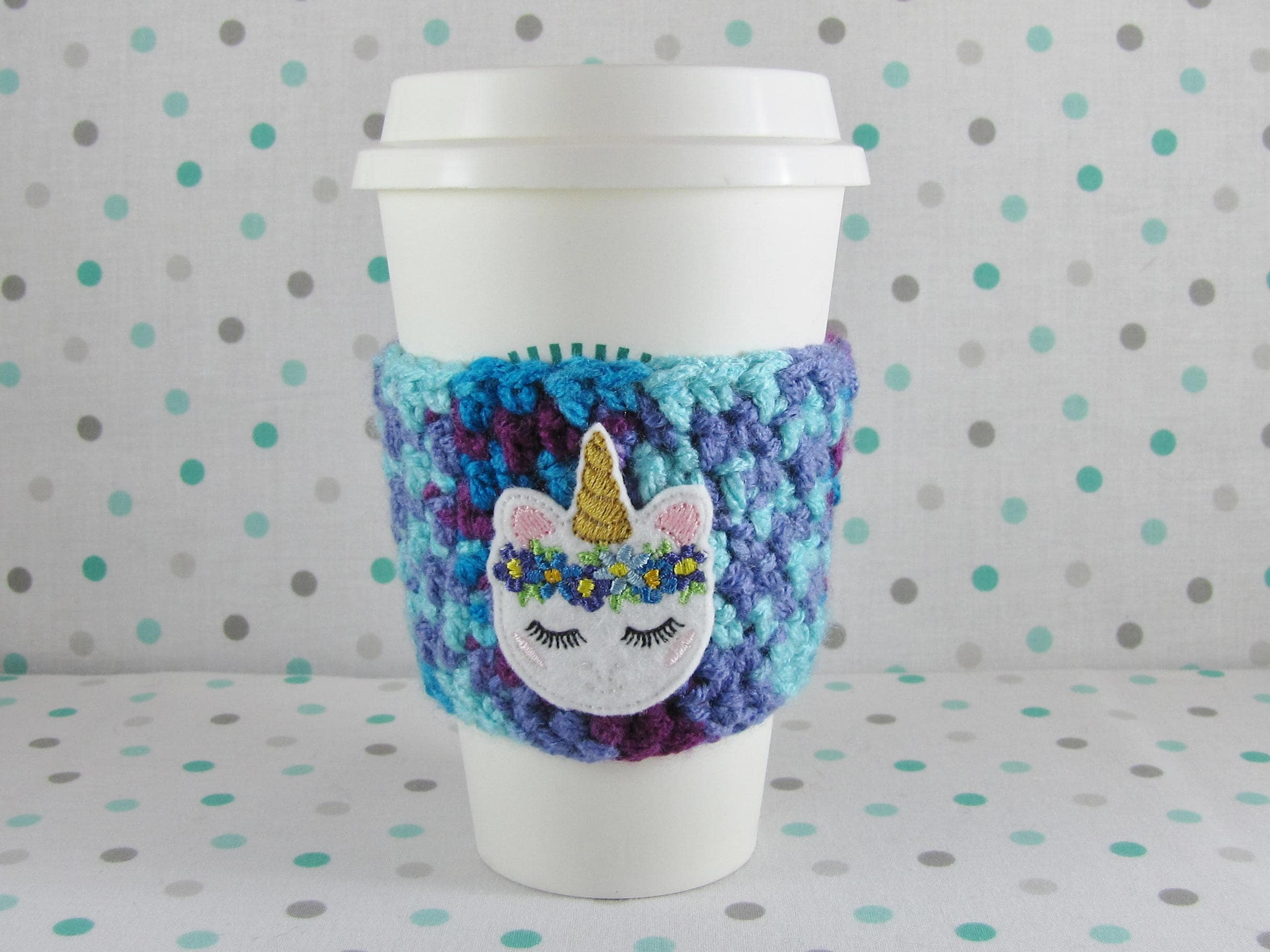 Starbucks Cup Cozy Crochet Pattern Custom Ideas