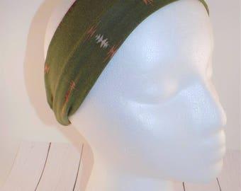 Olive green headband