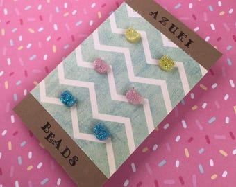 Fairy Kei Earrings Cat Earrings Kawaii Fairy Kei Decora Pastel Goth Accessories