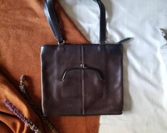 Rare COACH Bonnie Cashin Watermelon Tote Handbag