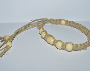 Thick Hemp Anklet