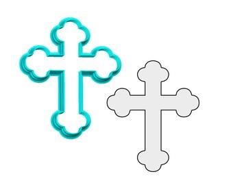 Cross #3 Cookie Cutter