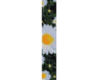 BPDA0004  Even Count Single Drop Peyote Cuff/Bracelet Pattern