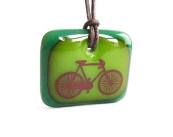 Road Bike Necklace / bicycle lover / be green / bicycle necklace / Tour de France / bike lover gift / bike jewellery / bicycle jewelry