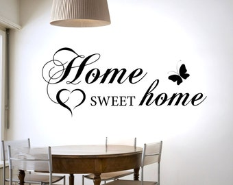 Home Sweet Home - Family - Wall sticker - Contemporary - Vinyl Decal