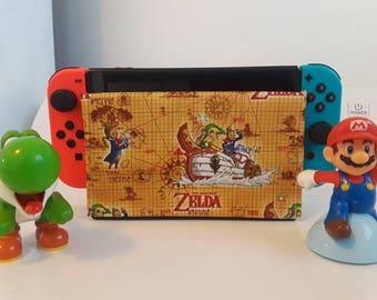 1 new style of Nintendo switch it up's dock sock cover sleeve screen protector Zelda link nes snes