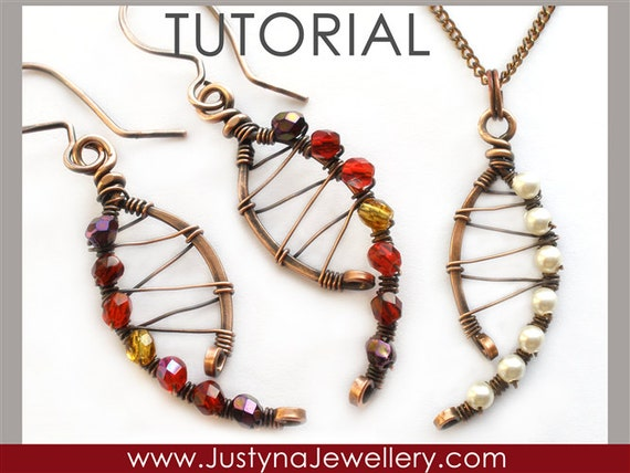 Draht Schmuck Tutorial Wirewrapping Schmuck Tutorial
