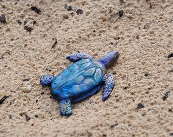 Sea turtle brooch