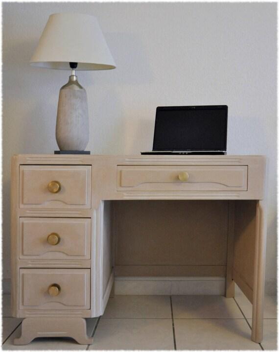 bureau de style ann e 50 nude int rieur laqu rouge. Black Bedroom Furniture Sets. Home Design Ideas