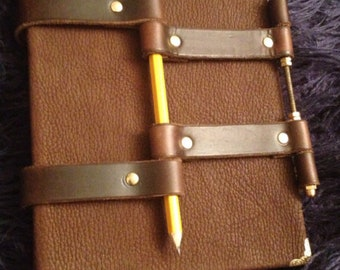 Hand Made Leather Bound Journal