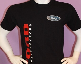 "On sale now!!! brand new men's black t-shirt ""ford"" 100% cotton,sizes-S,M,L,XL,XXL"