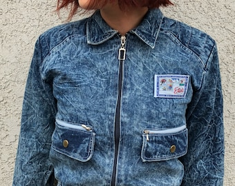 80's acid wash jacket