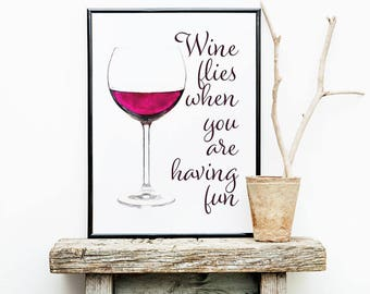 Wine Art, kitchen art, wine decor, printable wine art, wine print, funny wine art, wine art print, instant download, digital download
