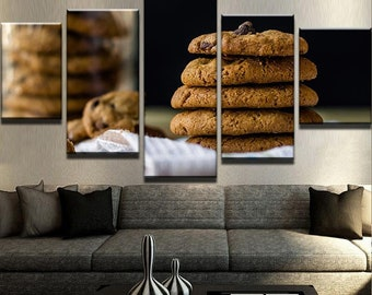 Cookies Canvas Set Kitchen decor