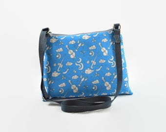 Zelda Crossbody Bag - Wind Waker Handbag - Zelda Gift - Ocean Adventure Bag - Gamer Gift - Gift for Her - Geek Chic Gift - Video Game Gift