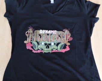 Dynamo Metalfest 2015  T-Shirt Woman ( Size : Medium )