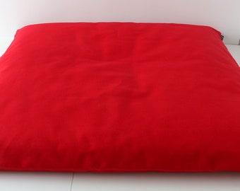 Zabuton Meditation Cushion - Red