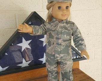"""18"""" Doll clothes - Military Combat Uniform"""