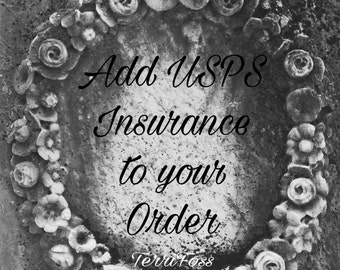 Add USPS Shipping Insurance Upgrade to Your Order Includes Insurance & Tracking with Delivery Confirmation for Domestic USA ONLY