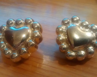 Sterling 'Airess.925' Heart Shaped Earrings