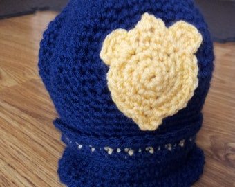 0-6 Month Old Time Policeman's Cap