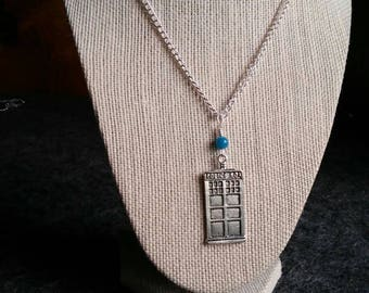 Doctor Who TARDIS Necklace Pendant