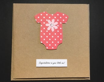 Congratulations on your little one! Card