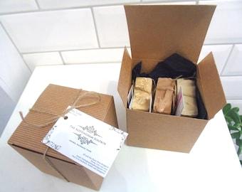 Soap Gift Box - Any 3 Bars of Soap