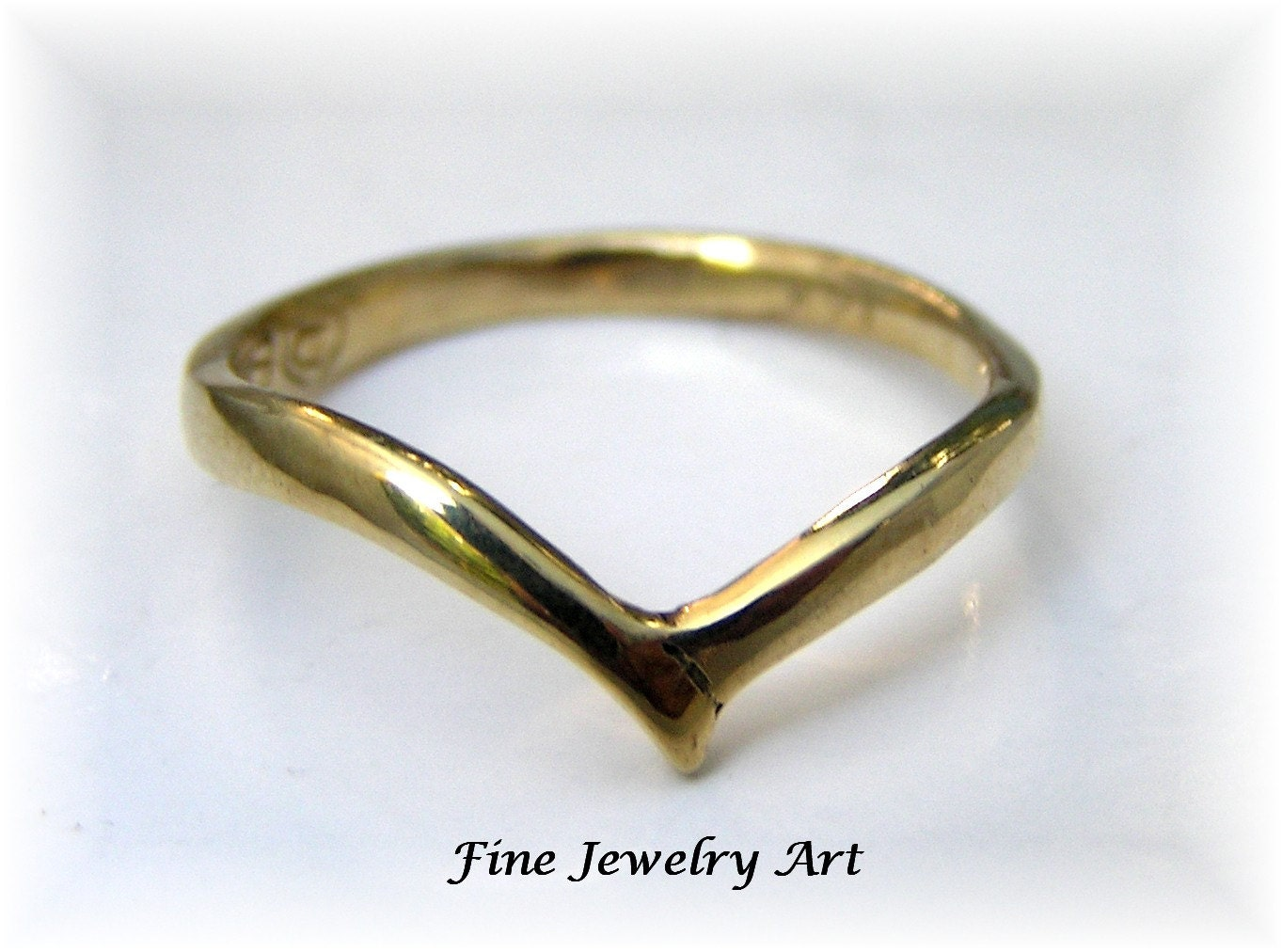 Fine Jewelry Personalized V-Shaped Ring 9L7wlX