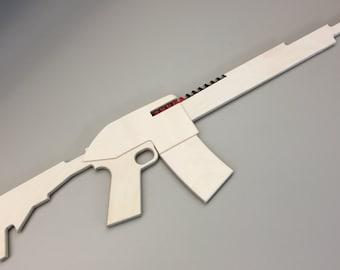 AR-15 Riot Rubber Band Gun