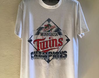 80's 90's Twins World Series T-Shirt