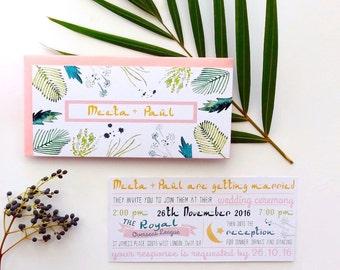 Printable Wedding Invitation, Wedding Invitation, Wedding Invitation Template, Wedding Invites, Wedding Invitations, Custom Invitations