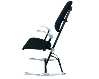 Vintage Hille Meridio posturepedic chair designed by Michael Dye