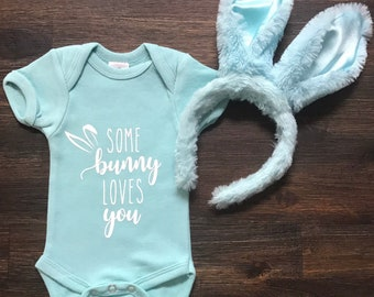 Some Bunny Loves You Onesie