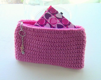 Gift For Her, Cosmetic Bag, Makeup Bag, Clutch, Mini Purse, Travel Pouch, Mini Purse, Accessory Bag, Travel Bag