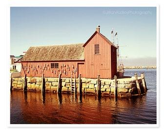 Nautical Photography, Fishing Shack Photography, Motif No. 1, Rockport Massachusetts, Ocean photography, Lobster Shack, Coastal Decor