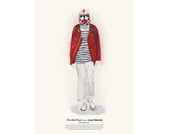 He Wears It 017 - Clone Shock Trooper wears Junya Watanabe